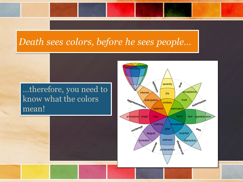 Color Theory in The Book Thief - ppt download