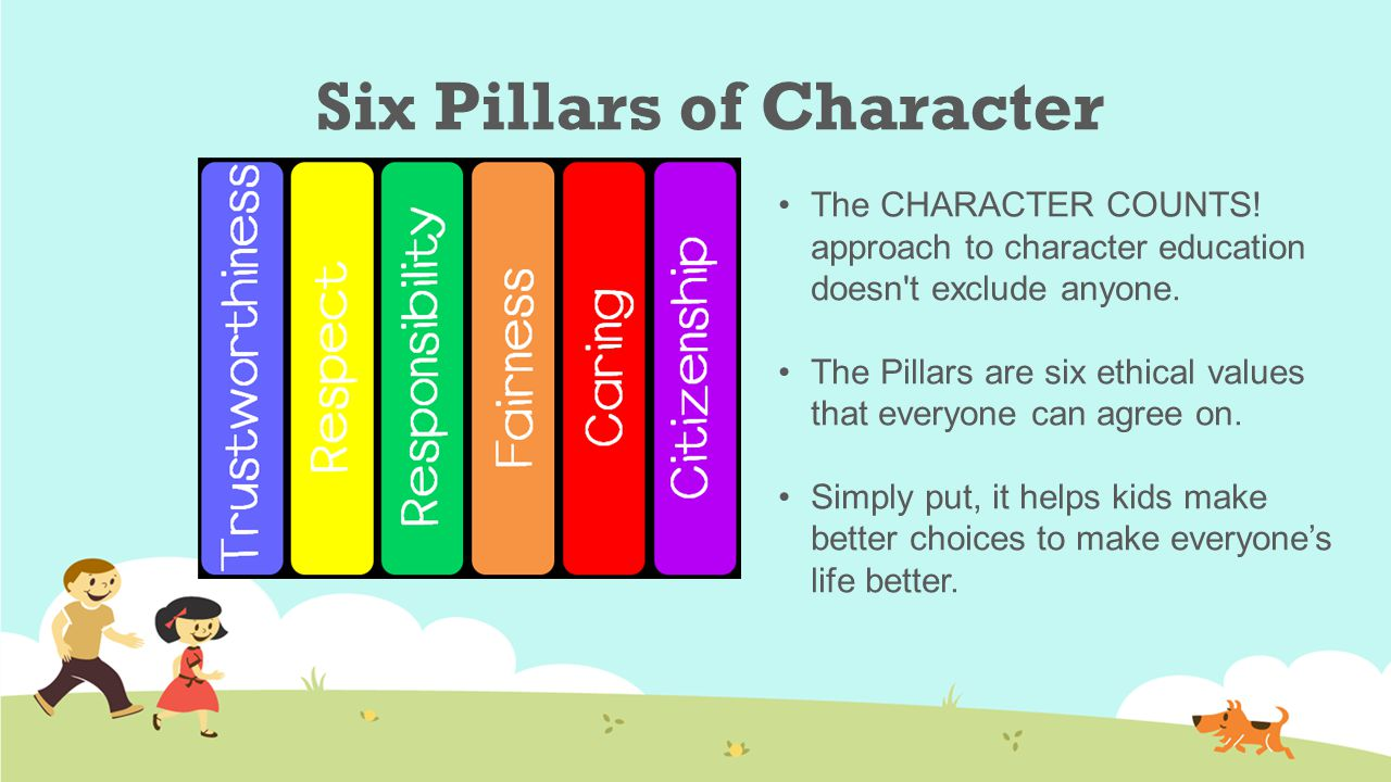 lesson plans character counts pillars