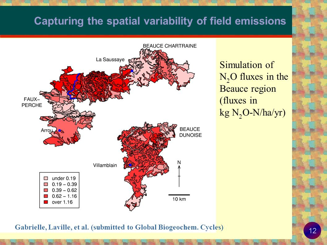 Capturing the spatial variability of field emissions