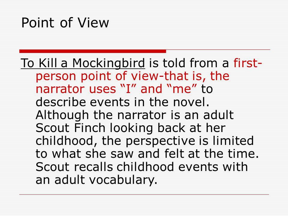 flashback in to kill a mockingbird