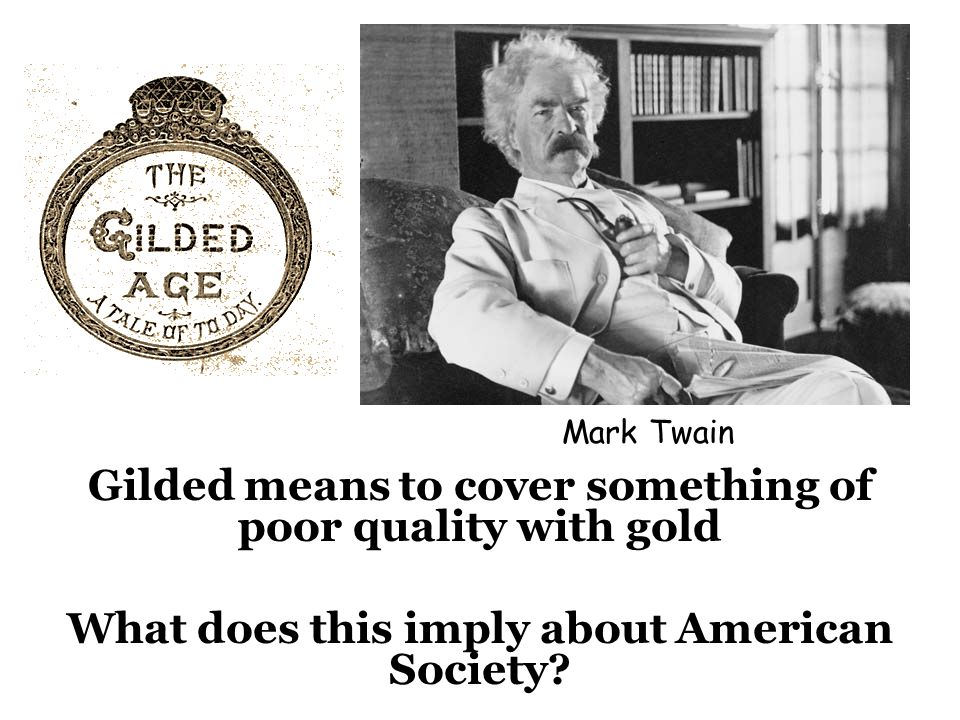 Gilded means to cover something of poor quality with gold