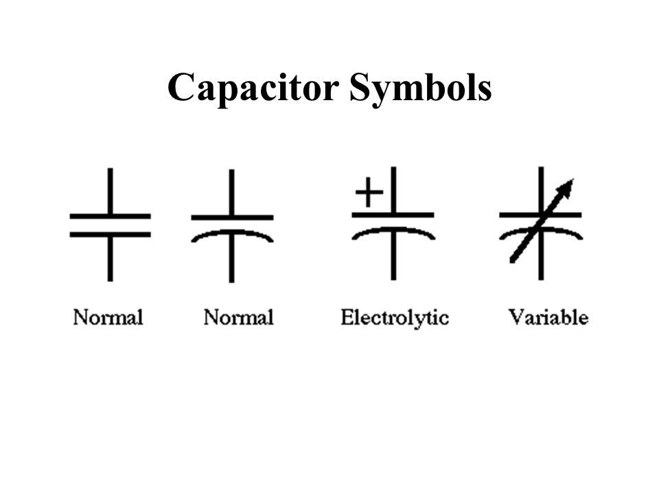 Mica Capacitor Symbol Choice Image - meaning of text symbols