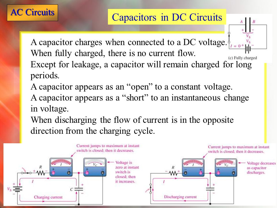 Capacitors in DC Circuits