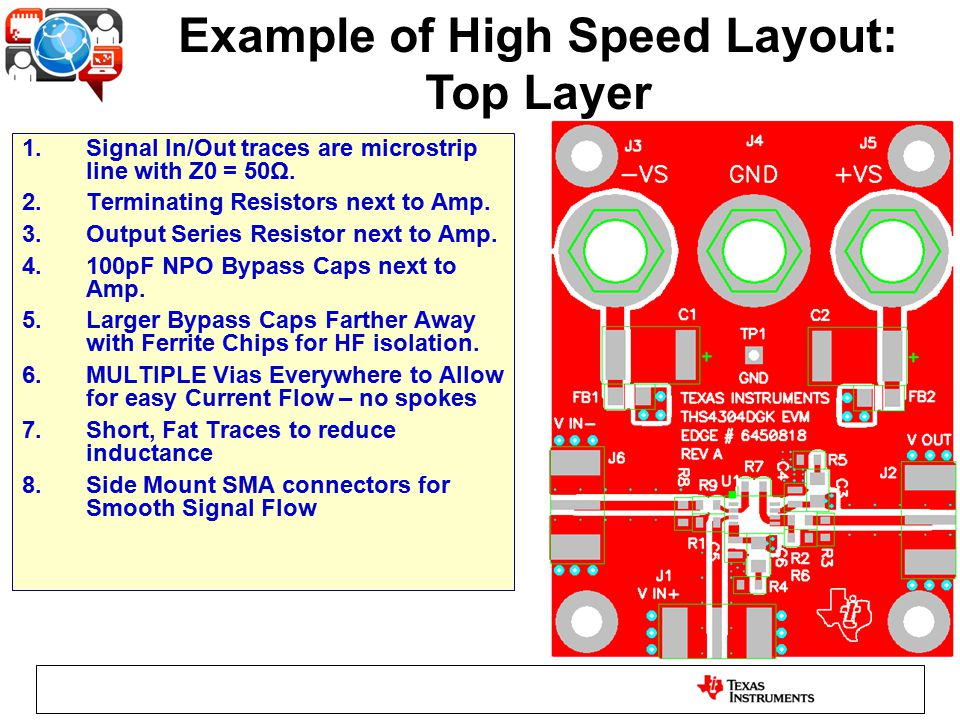 High Speed Layout Considerations - ppt download