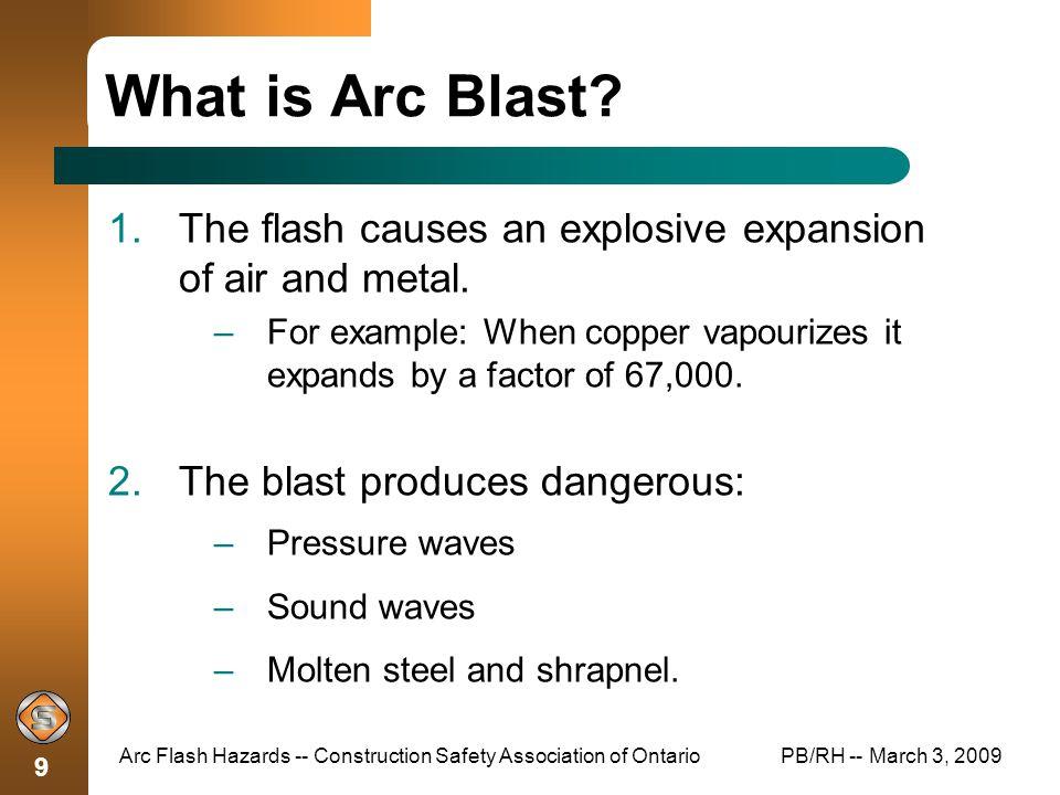 88b0ed146b48 Arc Flash Hazards Construction Safety Association of Ontario - ppt ...