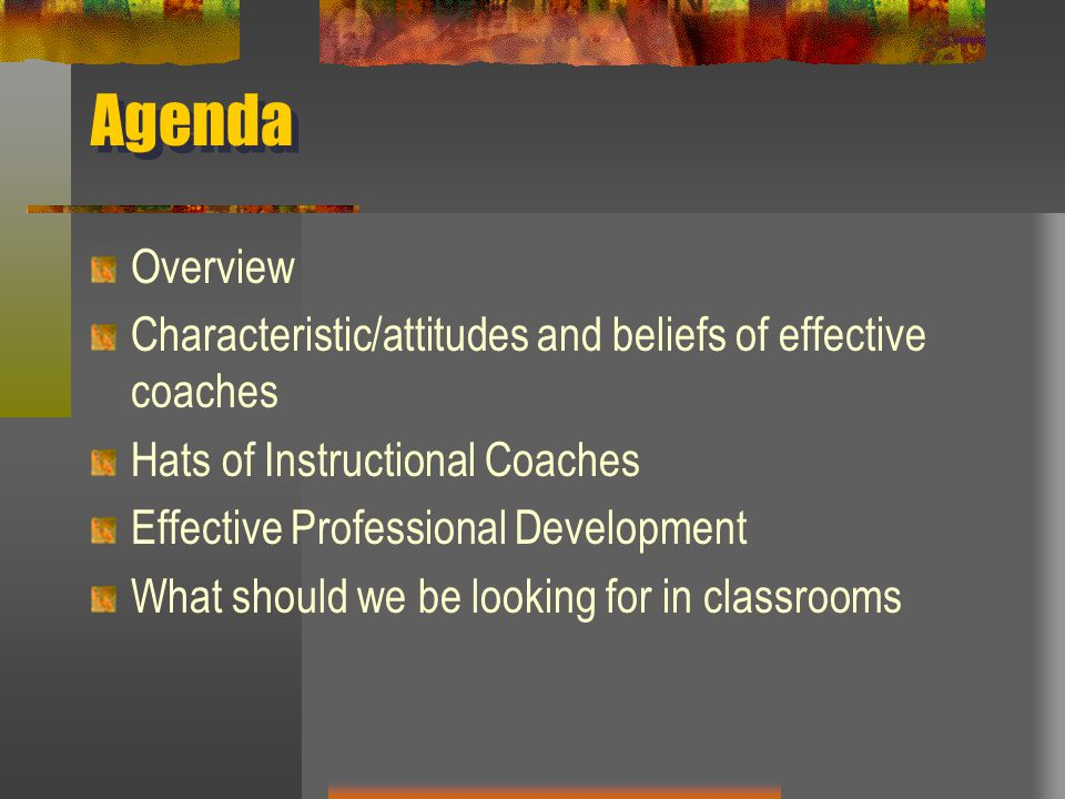 Becoming An Effective Instructional Coach Ppt Download