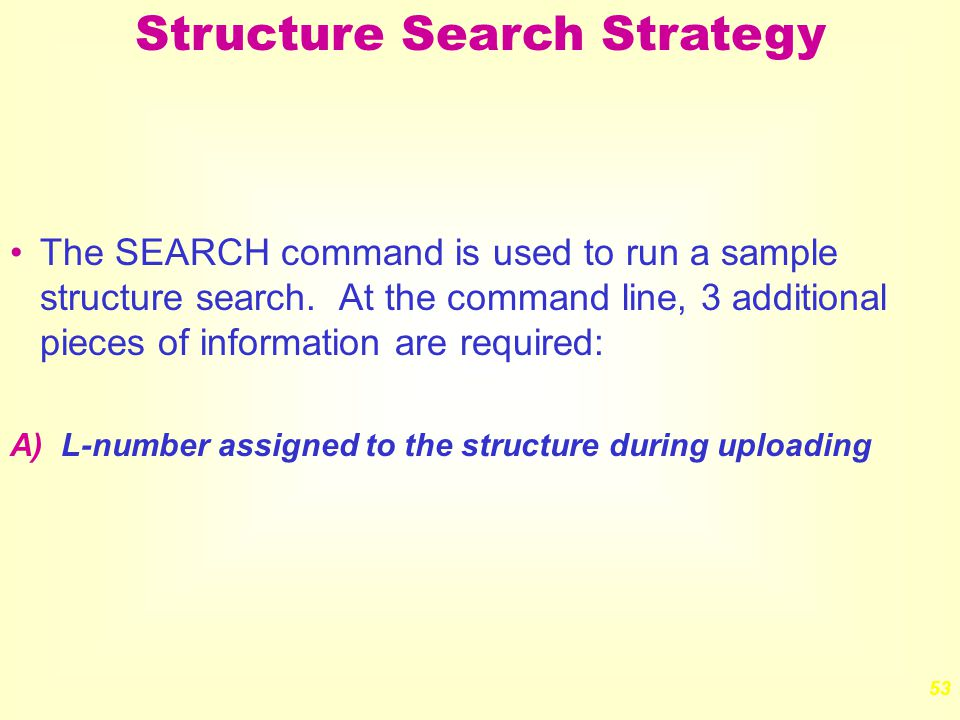 Structure Searching with STN Express - ppt download