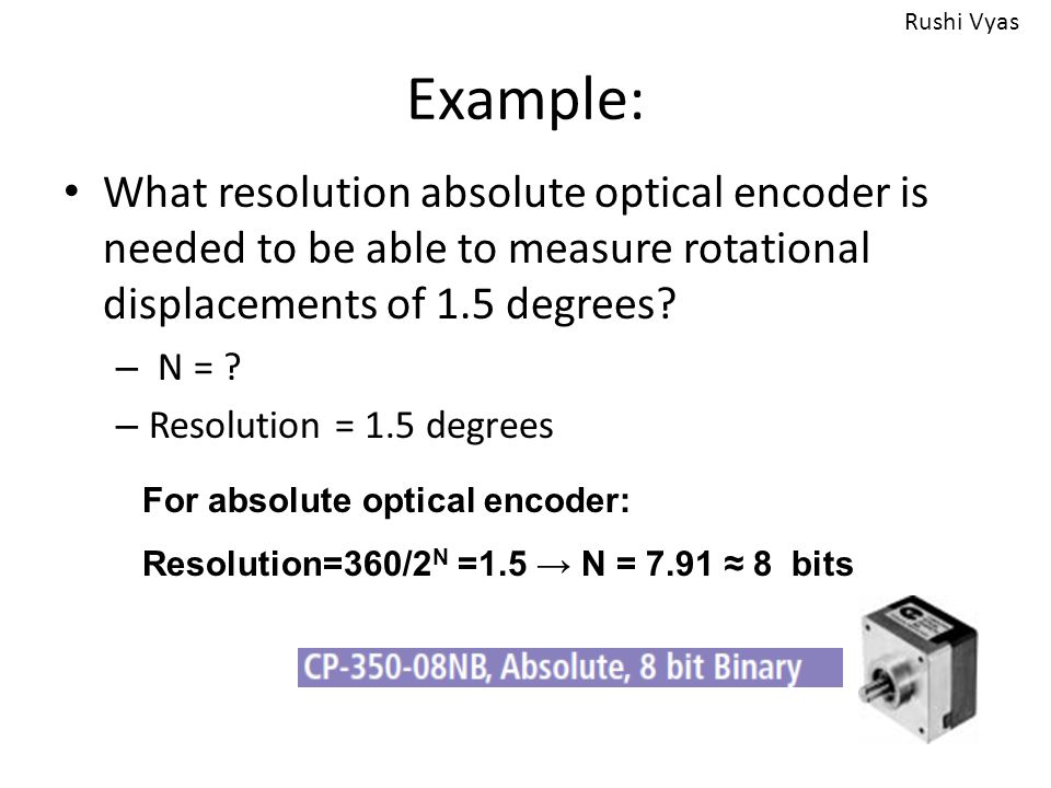 Optical Encoders, Laser Interferometer, LVDT - ppt video