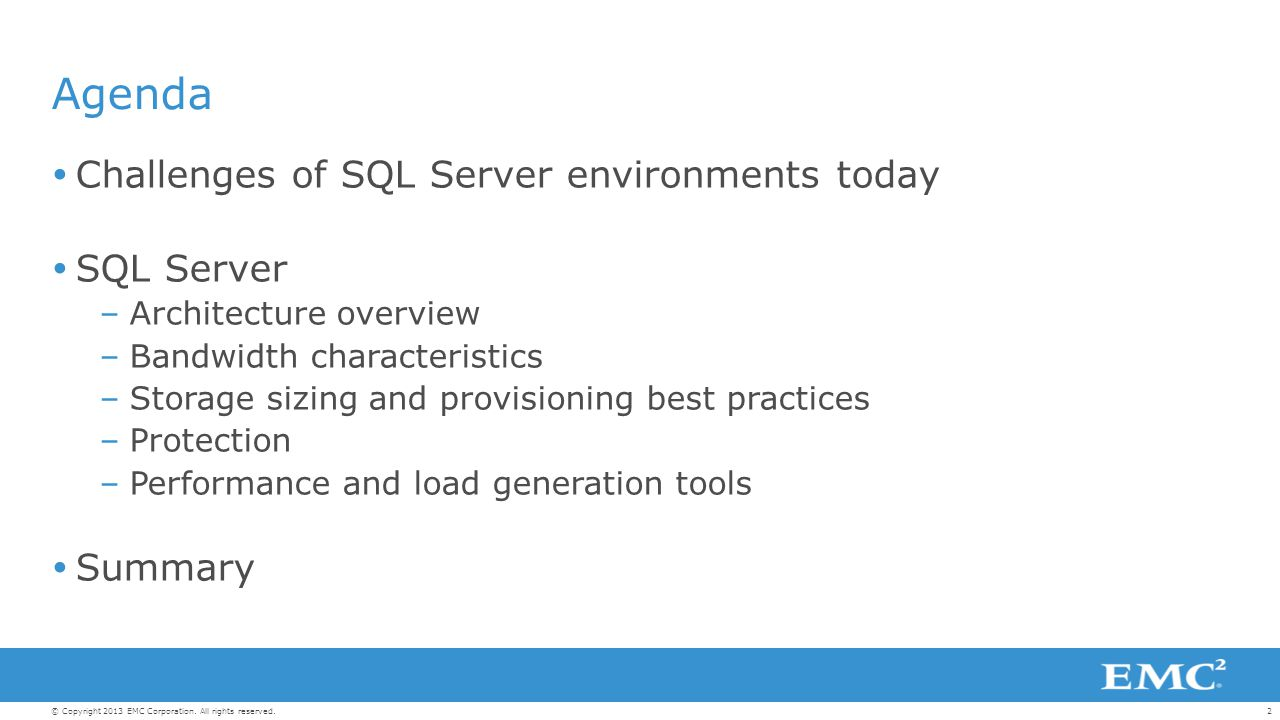 Microsoft SQL Server: Best Practices and Design Guidelines