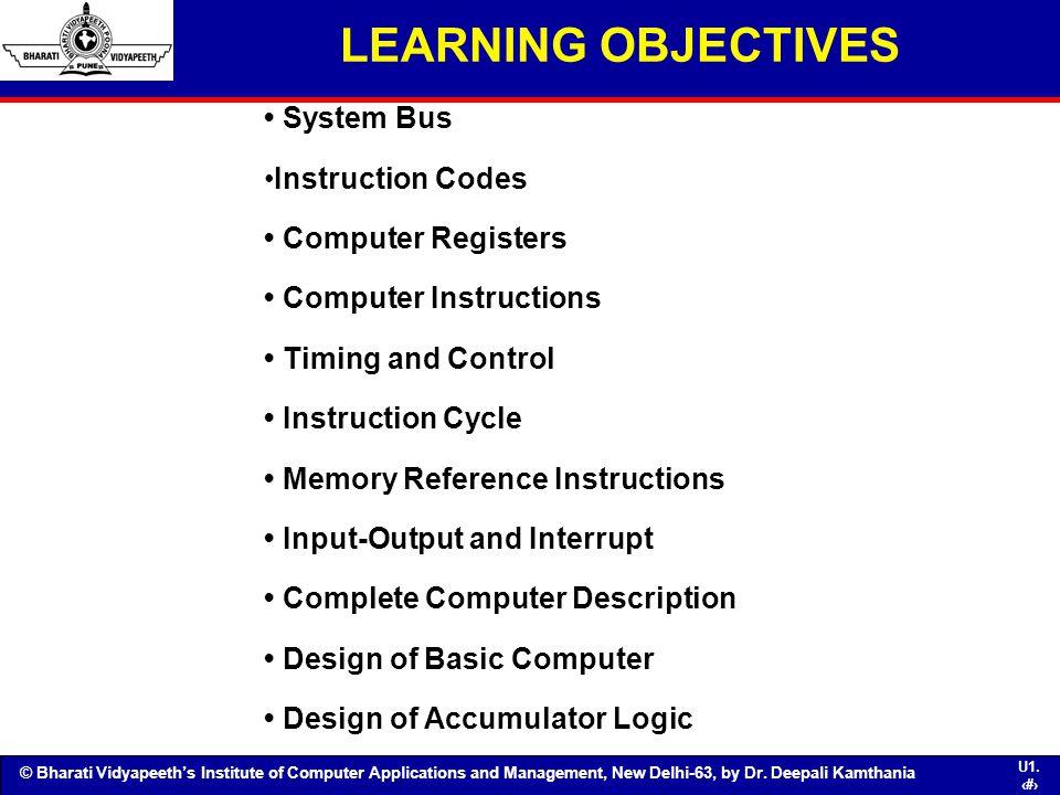 Unit Ii Basic Computer Organization And Design Ppt Download