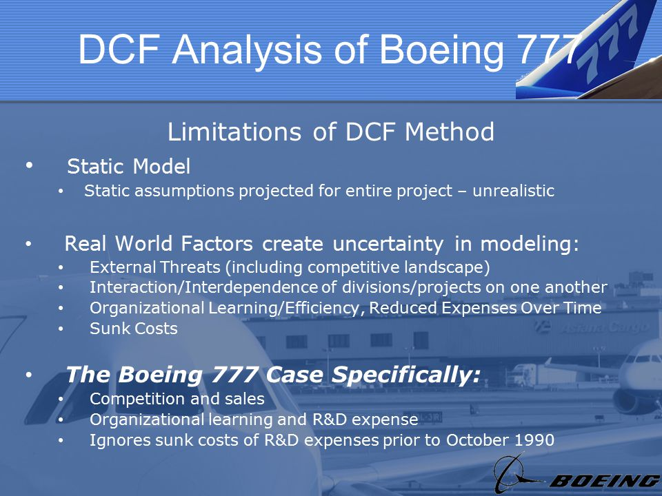 boeing external analysis