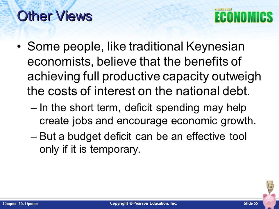 benefits of deficit spending
