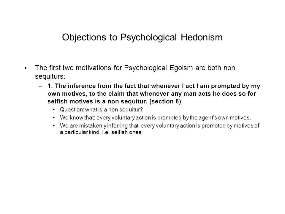 egoistic hedonism philosophy