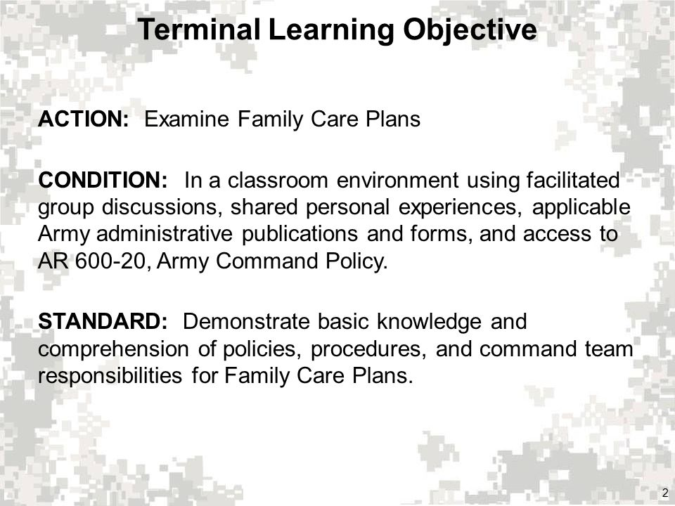Family Care Plans Show Slide 1 Family Care Plans Ppt Video Online