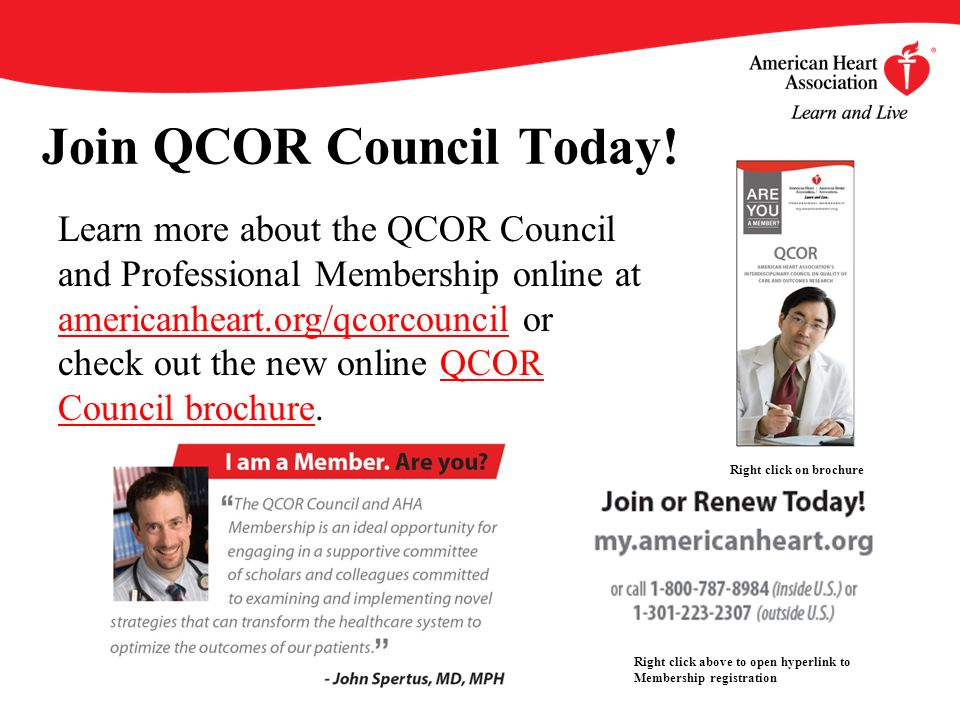 Join QCOR Council Today!