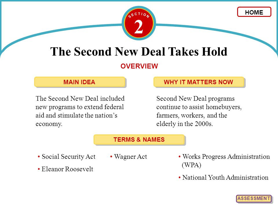 new deal and second new deal essay Fdr and the new deal chapter 3 debate: resolved: the new deal has been beneficial to america resolved: the new deal has been beneficial to america.