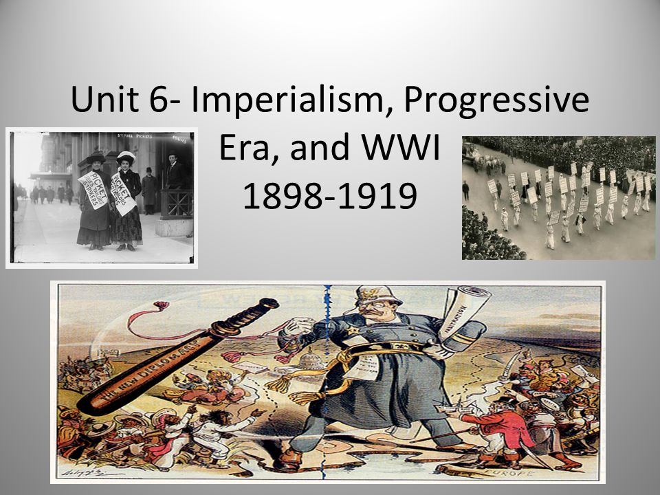 the ties between progressivism and imperialism American imperialism was motivated by four main factors: economic, political, geographic, and cultural the economic factors were desires to find new markets for trade by extending colonial power.