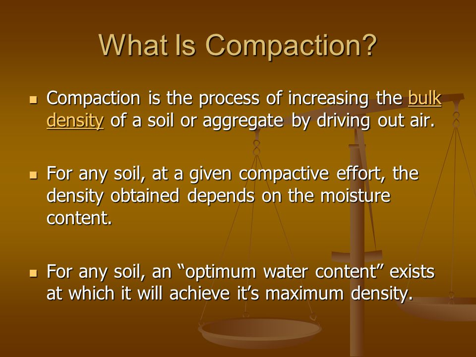 compaction Clean rock is just like damp sand that is easy to get initial compaction, but can get later settlement as it is working into the sub-base the base should really be an interlocked layer to spread out any loads and reain separate from the sub-base.