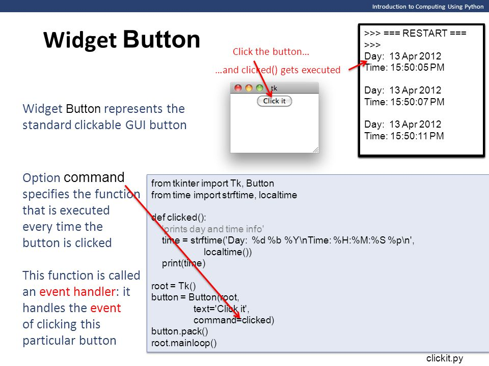 Graphical User Interfaces - ppt download