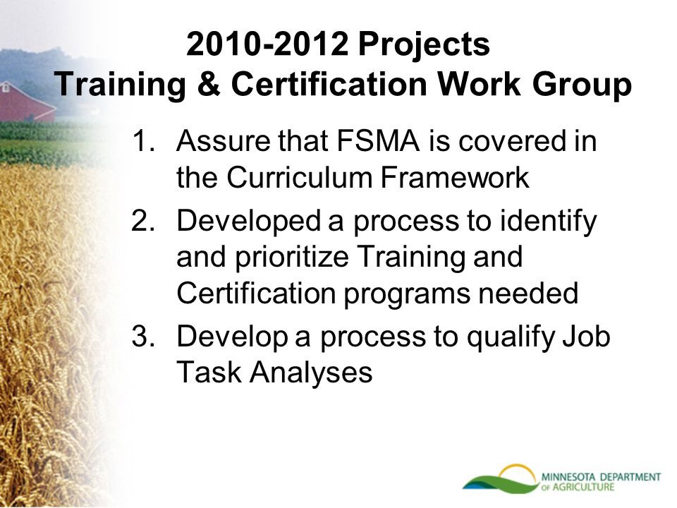 Training Certification Ppt Download