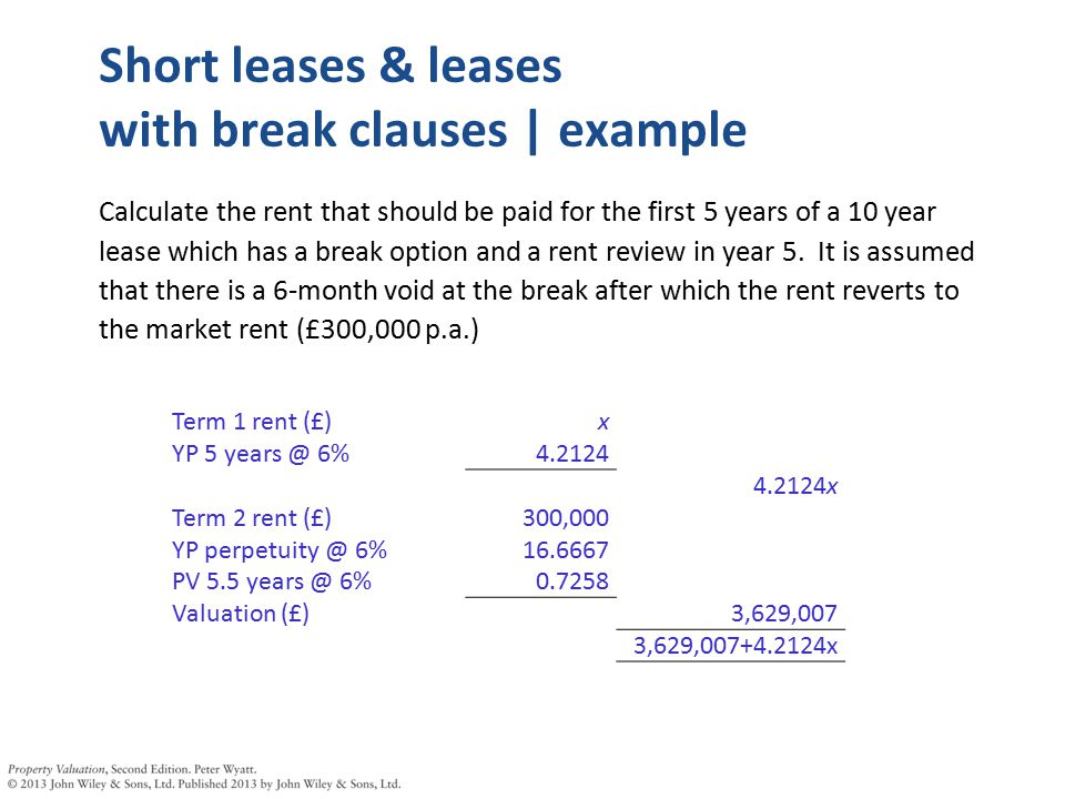 Lease Pricing Ppt Download