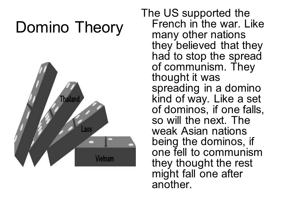 Domino Theory Meaning