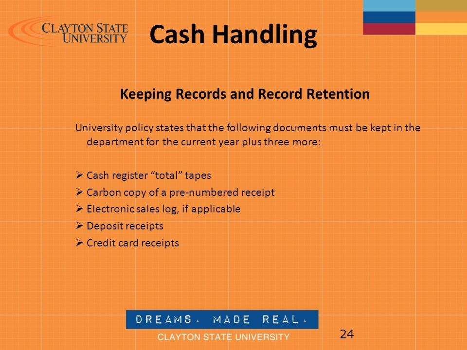 Cash Handling Training Presentation Ppt Video Online Download