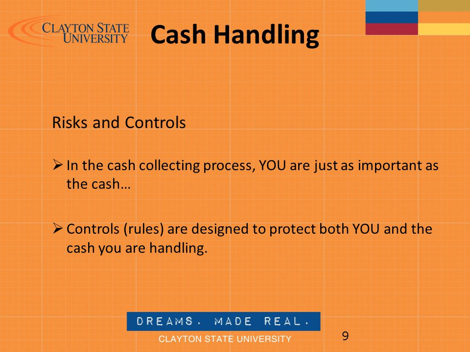 Cash Handling Risks and Controls
