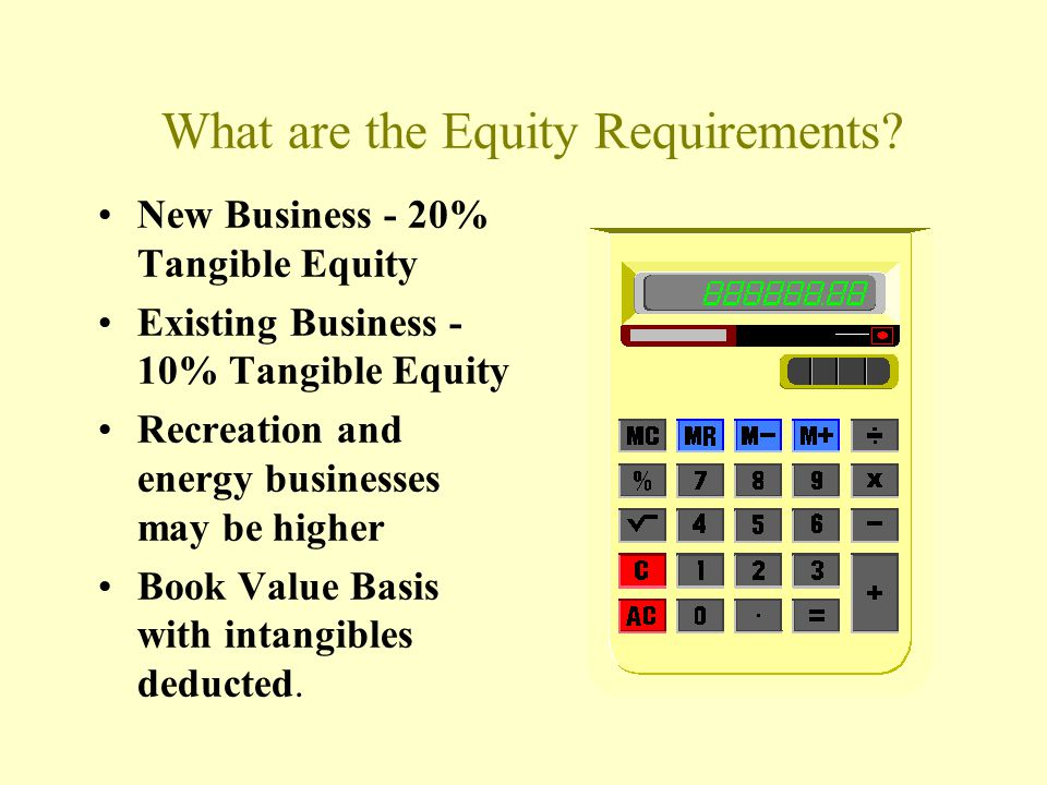 What are the Equity Requirements