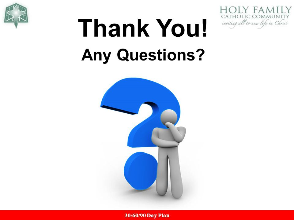 Thank You 21 Any Questions Top Business Development Interview
