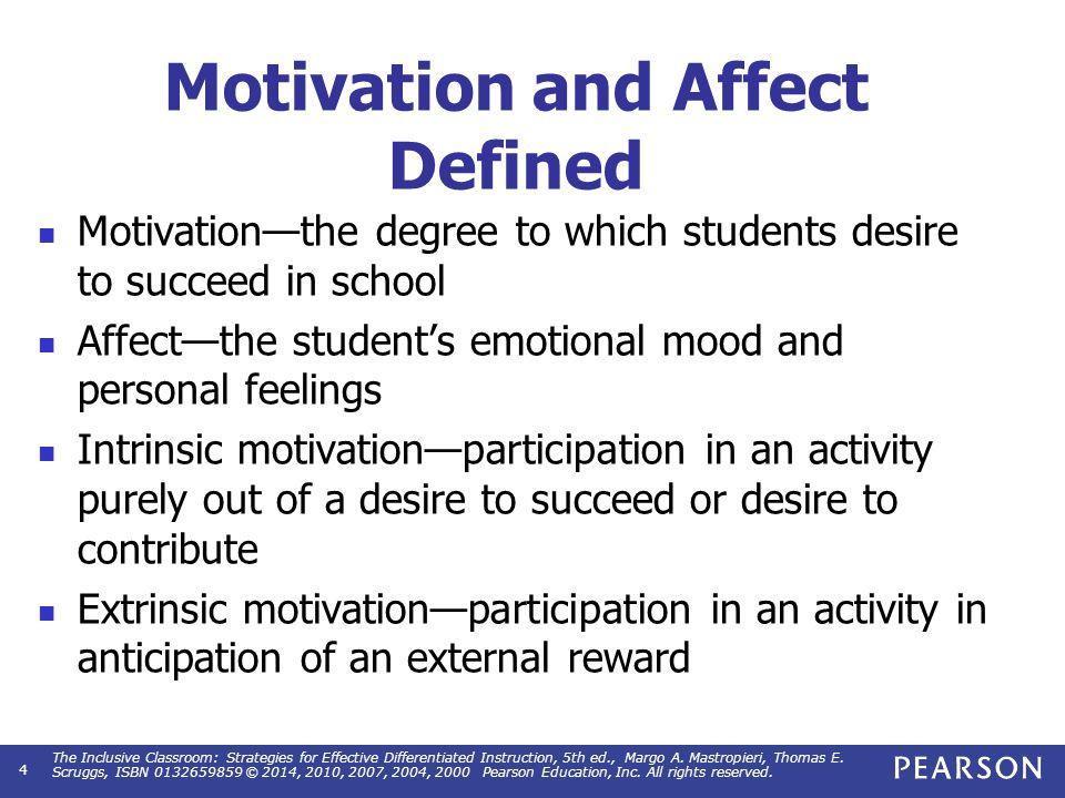 Enhancing Motivation And Affect Ppt Video Online Download