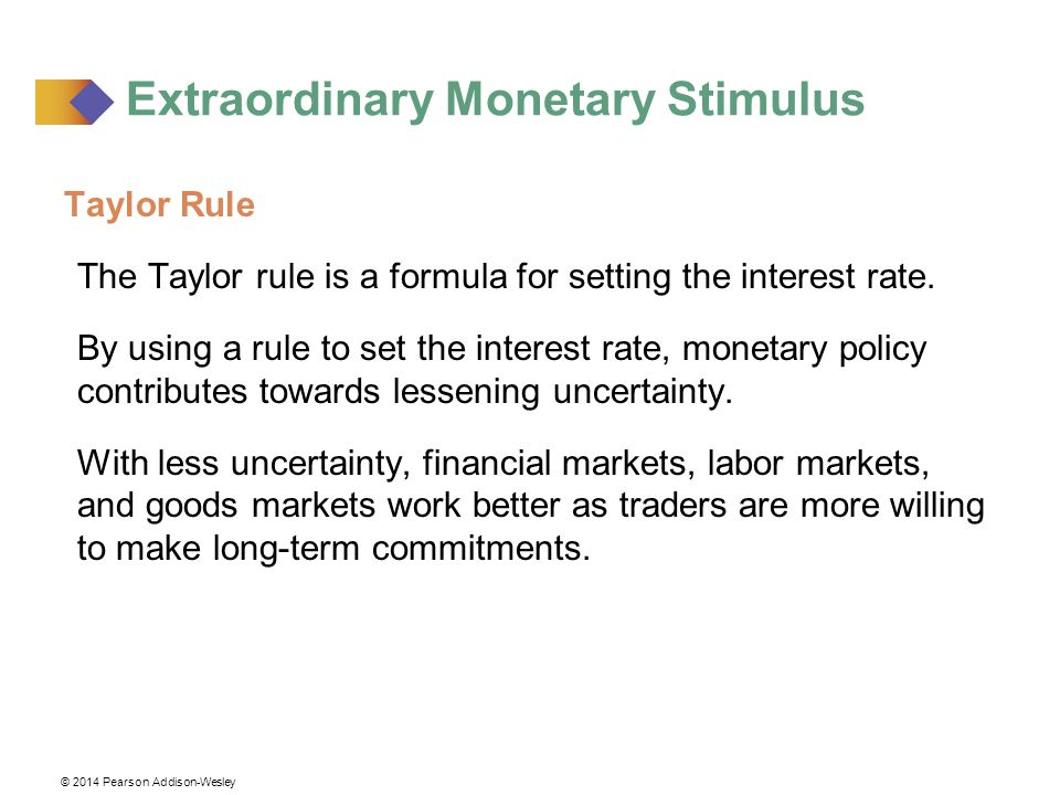 Extraordinary Monetary Stimulus
