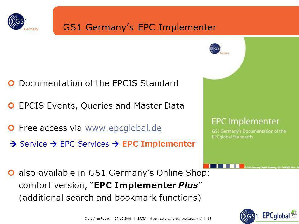 GS1 Germany's EPC Implementer