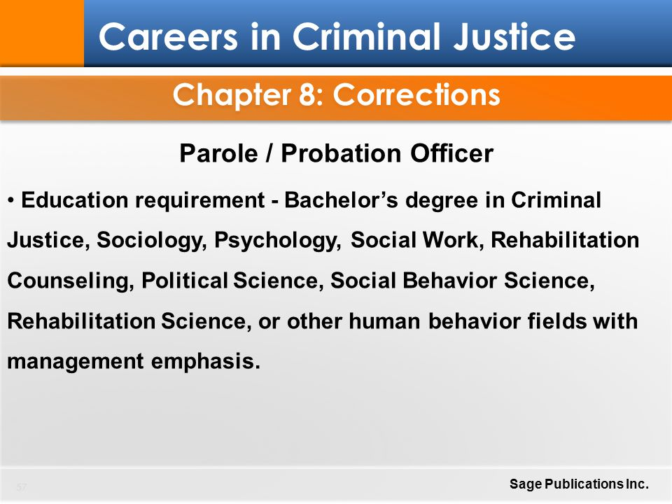 Ccj 1910 Week 2 Individual Work Probation And Parole Office By
