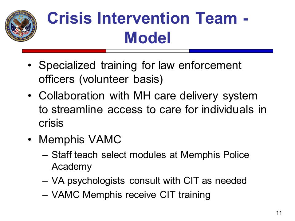Crisis Intervention Team - Model