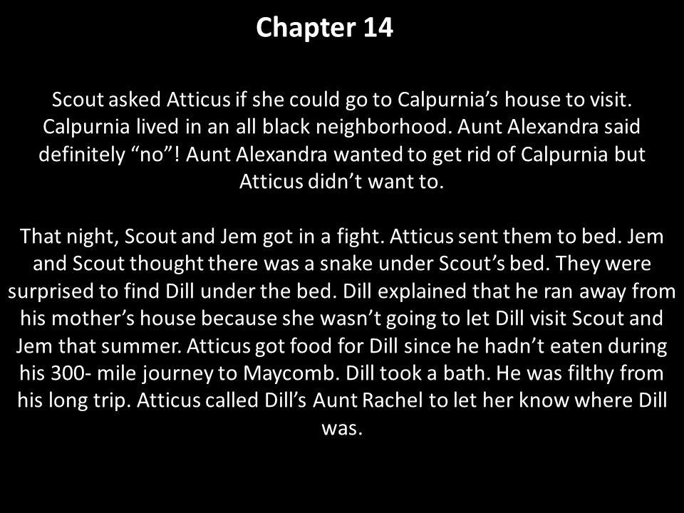 summary of chapter 13 14 in to kill a mockingbird