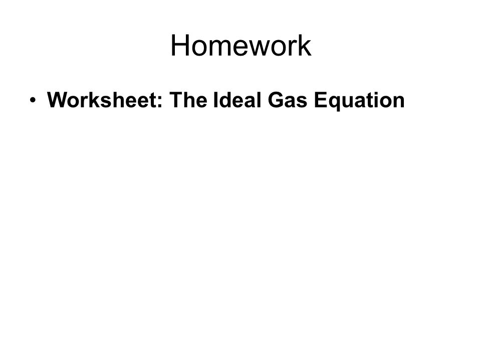Chapter 19 The Ideal Gas Equation Ppt Video Online Download