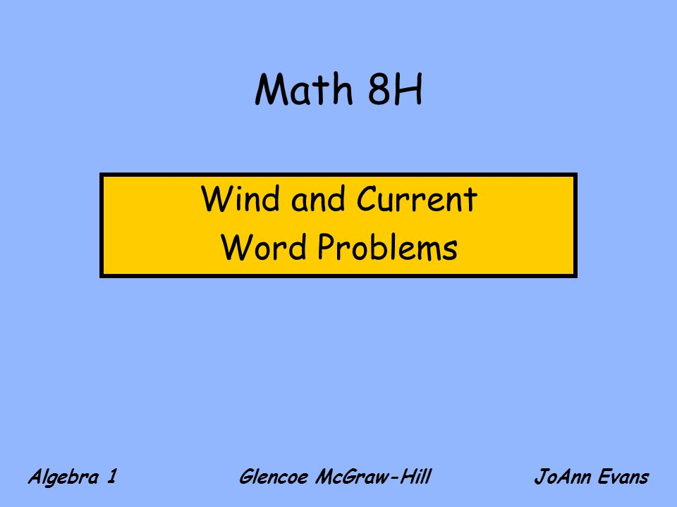 Wind and current word problems ppt download wind and current word problems ibookread PDF