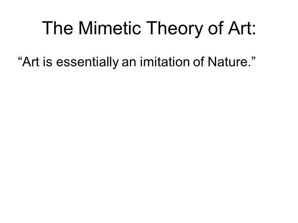 aristotle concept of imitation
