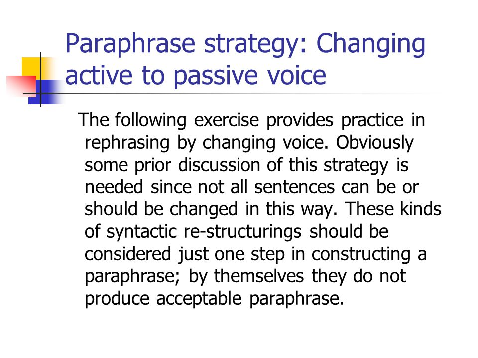 Linguistic Challenges of Summary and Paraphrase - ppt video online ...