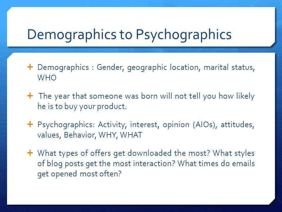 types of demographic data pdf
