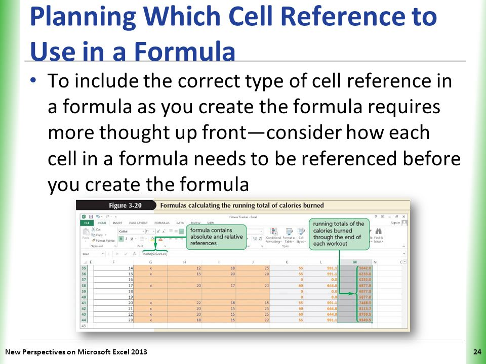 Planning Which Cell Reference to Use in a Formula