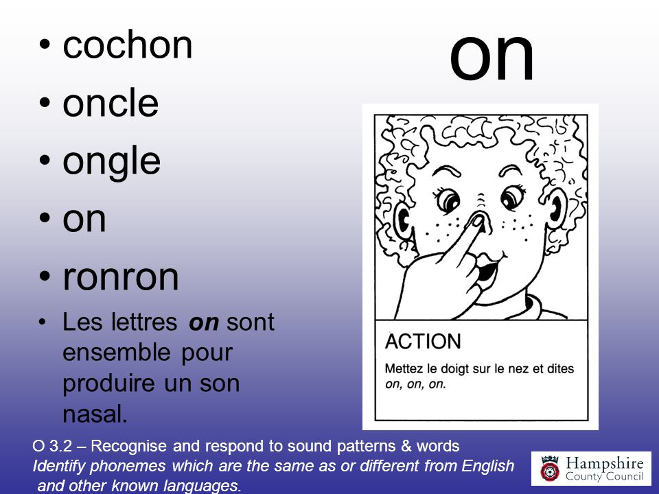 on cochon oncle ongle on ronron
