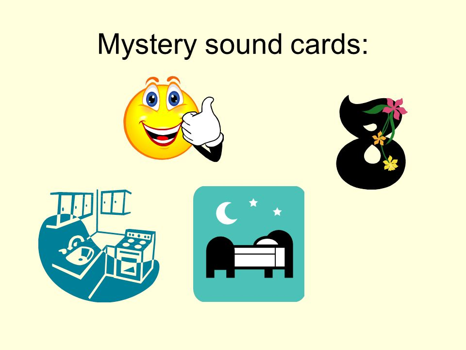 Mystery sound cards: Common sound is 'ui' as in huit, nuit, oui, cuisine