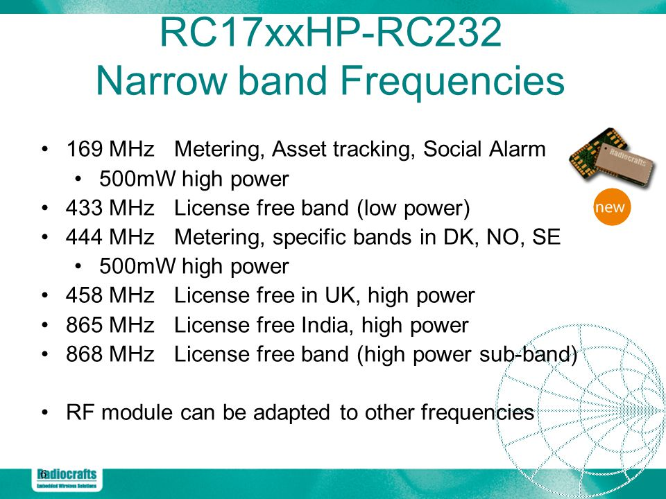Radiocrafts Embedded Wireless Solutions