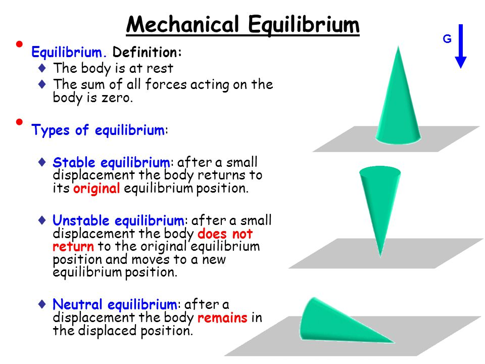 what is stable equilibrium