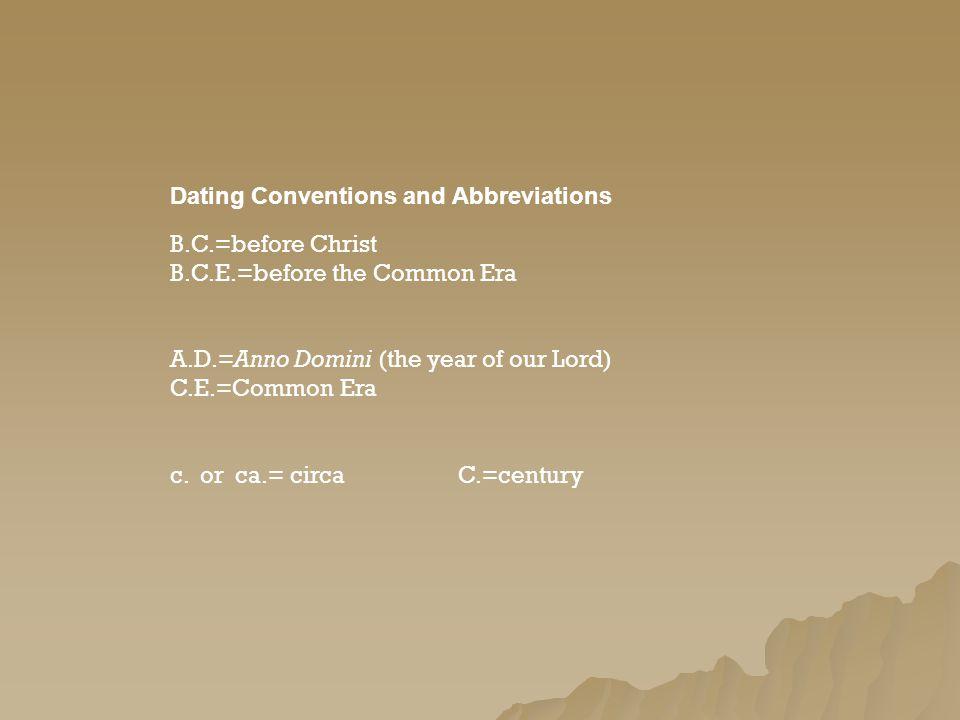 Historische Dating-Archäologie