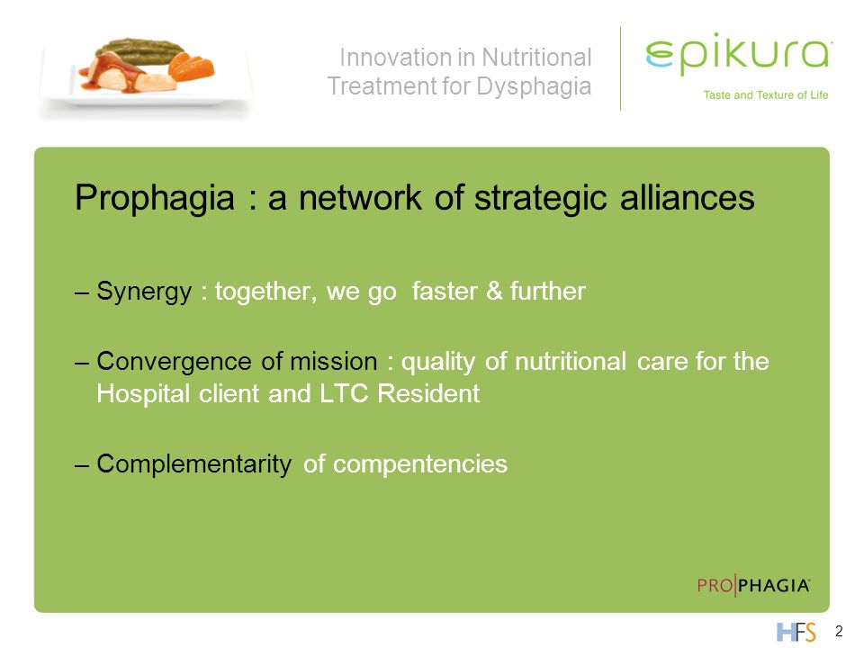 Prophagia : a network of strategic alliances