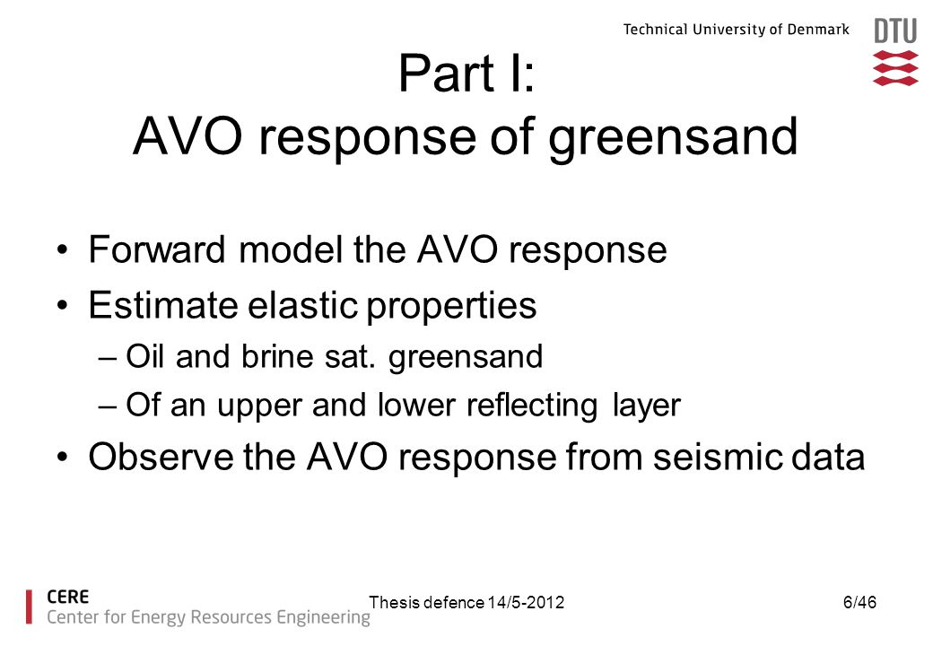 Part I: AVO response of greensand