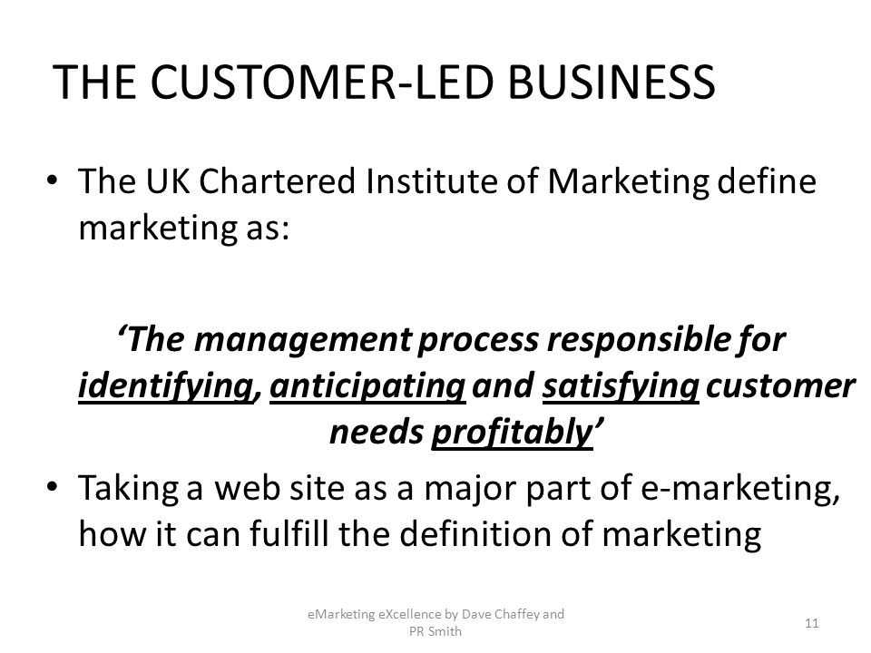 anticipating and satisfying customer requirements marketing essay The official definition currently for what is marketing is: marketing is the management process responsible for identifying, anticipating and satisfying customer requirements, profitably (the chartered institute of marketing 1976) while this is as true to today as over thirty years ago there have been propositions to change this to a more.